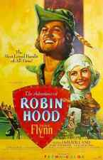 Film Adventures Of Robin Hood The 04 A3 Box Canvas Print