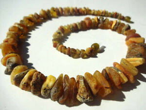 Raw Therapeutic  BALTIC AMBER Necklace 19.7''