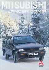 MITSUBISHI Lancer Combi PROSPEKT 9/88 brochure 1988 auto automobili Giappone Asia