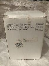 """New 1998 Liberty Falls Collection """"The Liberty Airship"""" Hot Air Balloon #Ah555"""