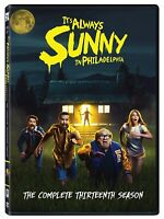 It's Always Sunny in Philadelphia:the complete 13th season DVD FREE SHIPPING NEW