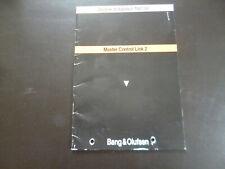 Original Beolink Installation Bang& Olufsen Master Control Link 2 1987/88