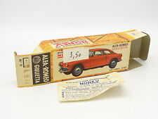 Norev 1/43 - Caja Vacío Original Alfa Romeo Giulietta