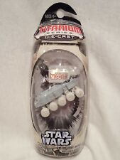 STAR WARS Titanium Series Die Cast Clone Wars Republic Snow Turbo Tank