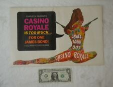 James Bond Casino Royale 1967 Pressbook 11x17 David Niven Peter Sellers