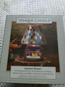 Yankee candle autumn mosaic Small Jar Shade And Tray
