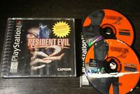 Resident Evil 2 PS1 (Sony PlayStation 1, 1998) Black Label Complete