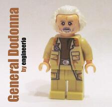 LEGO Custom - General Jan Dodonna - Star Wars minifigures luke skywalker