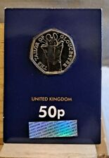 The Tailor Of Gloucester Beatrix Potter 50p Fifty Pence coin 2018 Uncirculated