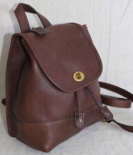 Coach brown leather Vintage Backpack shoulder handbag