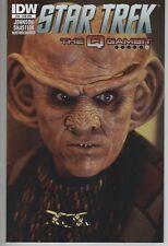 Star Trek #40 Quark photo cover comic book The Q Gambit TV show series movie