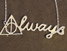 Harry Potter - Deathly Hallows Always Silver Plated Necklace