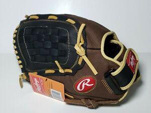 "Rawlings RBG36BC 12.5"" Leather Zero Shock Baseball Glove LHT Left Hand Throw NEW"