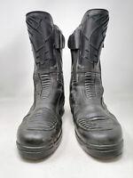 DAYTONA Motorcycle Boot Stivali Neri In Pelle Leather TG IT 43 Uomo Man