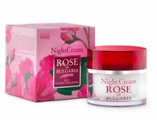ROSE OF BULGARIA Night Cream Women With Natural Rose Water 50ml BioFresh