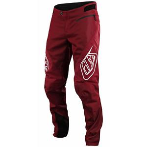 Troy Lee Designs Sprint Pants TLD MTB DH Downhill BMX Racing Gear BURGUNDY 2021