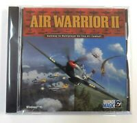 """""""BRAND NEW"""" Air Warrior II PC Game jewel case  Windows 95 FACTORY SEALED"""