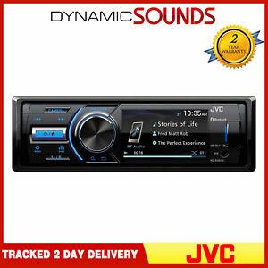 "JVC KD-X560BT - 3"" Inch Screen Reversing Camera Input USB AUX Car Radio Player"