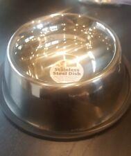 Stainless Steel Spaniel Bowl