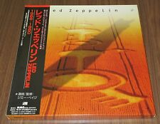 LED ZEPPELIN Japan 4 x SEALED CDs box set w/booklets, mini box, obi - no sponge