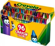 Crayola Crayons Box with Built-In Sharpener 96 Count assorted colors