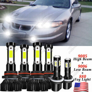 For Pontiac Bonneville 1992-2003 9005 9006 880 Headlight & Fog Light LED Bulbs