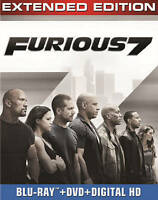 Furious 7 (Blu-ray + DVD + DIGITAL HD wi Blu-ray