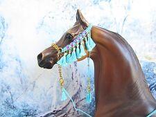HW313 - LSQ Braided Arabian Halter for a Peter Stone, similar size Model Horses