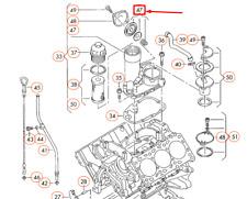 AUDI A4 B5 Lüftung Für Zylinderkopfhaube 046198475B Neu Original