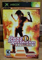 XBOX LIVE Dance Dance Revolution Ultramix 3 *MANUAL ONLY*