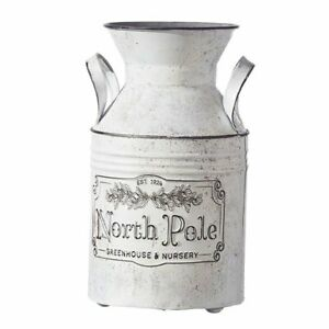 Raz Imports The Greenery Shop North Pole Container -- New