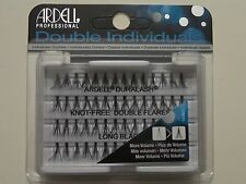 (LOT OF 72) Ardell Duralash Knot-Free DOUBLE Flares LONG Individual Flairs