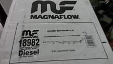 "Magnaflow Performance 5"" Turbo Downpipe Back Exhaust Duramax 01-10 Kit  18982"