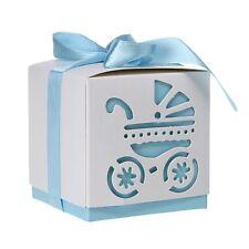 12pcs Wedding Favor Bridal Candy Gift Box Cut Out Pram ED