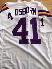 Vikings Dave Osborn custom unsigned jersey