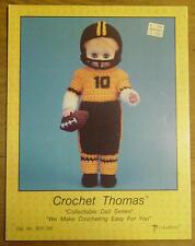 "Football Player Thomas 13"" Doll Clothes Crochet Pattern"