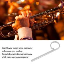 Metal Trumpet Slide Trumpet Finger Ring Trumpet Accessory for Fix Trumpet Valve