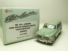 VOLVO AMAZON ESTATE '69 KOPPARTRANS GREEN ROB EDDIE RE.10X LIMITED 1 OF 125 1:43