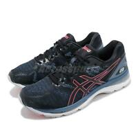 Asics Gel-Nimbus 20 Black Azure Blue Pink Men Running Shoes Sneakers T800N-003