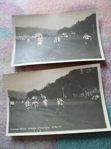 Kempten Sonthofen Fussballspiel Okt. 1919 Deidl 2 AK Privat Sport