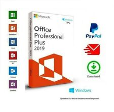 Microsoft Office 2019 Professional Plus - Windows 11 10  1 PC Word Excel Outlook
