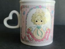 Precious Moments Coffee Cup Mug 1996 You Have Touched So Many Hearts •Enesco
