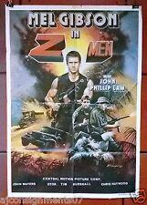 Attack Force Z Men Mel Gibson Original Lebanese Movie Poster 80s