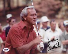 Arnold Palmer Signed 8x10 Photo PSA/DNA COA Golf Masters PGA Picture Autograph 2