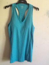 Ladies Reebok  Teal Singlet Gym Top. Size S. Near New