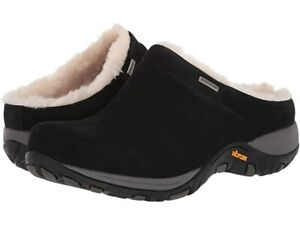 Dansko Parson Black Suede Mule - NEW - Choose Size