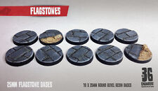 Flagstones - 10 x 25mm resin scenic bases