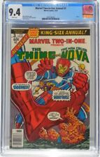 Marvel Two-In-One Annual #3 The Thing Nova Monitors 1978 Graded Comic CGC 9.4 NM