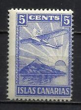 2114-SELLO LOCAL SOBRETASA ISLAS CANARIAS AVION AVIACION AEREO NUEVO** MNH  GUER