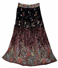 RAYON skirt Indian kjol hippY falda WOMEN EHS ethnic  jupe boho rok retro gypsy